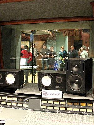 Opnames van een eigen lied of rap tijdens het teamuitje